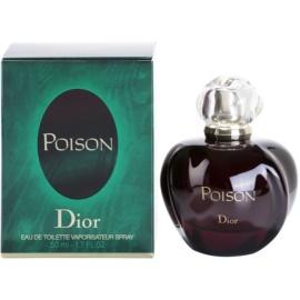 Dior Poison Poison Eau de Toilette toaletní voda pro ženy 50 ml