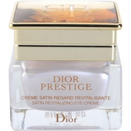 Dior Prestige crema de ochi revitalizanta (Satin Revitalizing Eye Creme) 15 ml