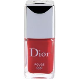 Dior Vernis esmalte de uñas tono 999 Rouge 10 ml