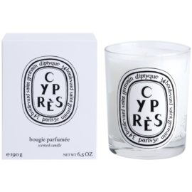 Diptyque Cypres vela perfumada  190 g