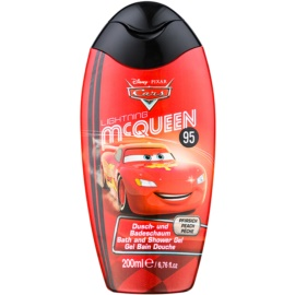 Disney Cosmetics Cars pěna do koupele a sprchový gel 2 v 1  200 ml