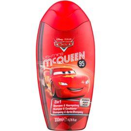 Disney Cosmetics Cars шампунь та кондиціонер 2 в1  200 мл