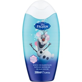 Disney Cosmetics Frozen pena za kopel in gel za prhanje 2v1  200 ml