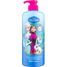Disney Cosmetics Frozen pena za kopel in gel za prhanje 2v1  750 ml