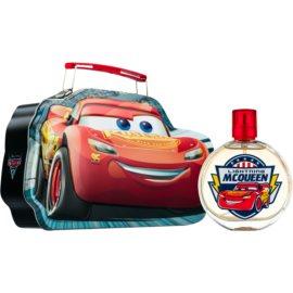 Disney Cars σετ δώρου Ι.  Eau de toilette 100 ml + τάπερ για κολατσιό