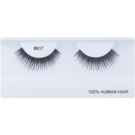 Diva & Nice Cosmetics Accessories Stick-On Eyelashes From Human Hair No. 6517