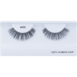 Diva & Nice Cosmetics Accessories Stick-On Eyelashes From Human Hair No. 4930