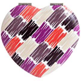 Diva & Nice Cosmetics Accessories lusterko kosmetyczne w kształcie serca (7x7 cm)