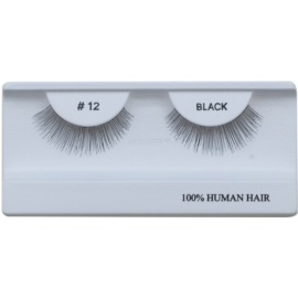 Diva & Nice Cosmetics Accessories Stick-On Eyelashes From Human Hair No. 12
