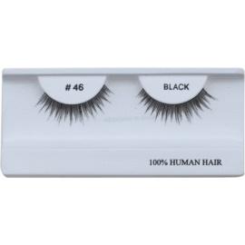 Diva & Nice Cosmetics Accessories nalepovací řasy z přírodních vlasů No. 46