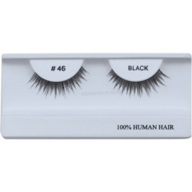 Diva & Nice Cosmetics Accessories Stick-On Eyelashes From Human Hair No. 46