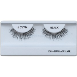Diva & Nice Cosmetics Accessories Stick-On Eyelashes From Human Hair No 747M