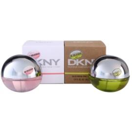 DKNY Be Delicious + Be Delicious Fresh Blossom set cadou II.  Eau de Parfum 30 ml + Eau de Parfum 30 ml