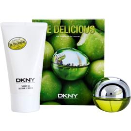 DKNY Be Delicious darilni set XII. parfumska voda 30 ml + gel za prhanje 150 ml