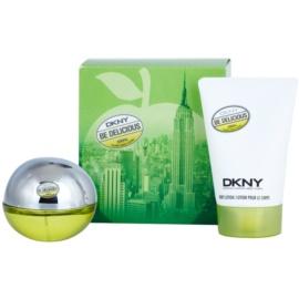 DKNY Be Delicious darilni set XIII. parfumska voda 30 ml + losjon za telo 100 ml