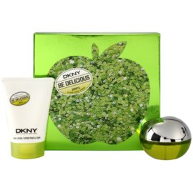 DKNY Be Delicious zestaw upominkowy VIII. woda perfumowana 50 ml + mleczko do ciała 100 ml