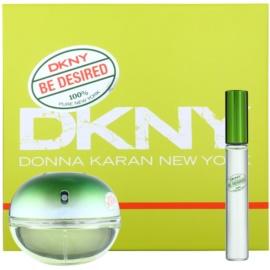 DKNY Be Desired Geschenkset II. Eau de Parfum 50 ml + roll-on 10 ml