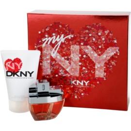 DKNY My NY dárková sada I. parfémovaná voda 50 ml + tělové mléko 100 ml