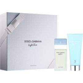 Dolce & Gabbana Light Blue подарунковий набір ІІ  Туалетна вода 50 ml + Крем для тіла 100 ml
