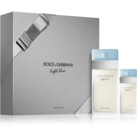 Dolce & Gabbana Light Blue Geschenkset XIV.  Eau de Toilette 100 ml + Eau de Toilette 25 ml