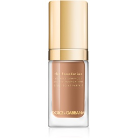 Dolce & Gabbana The Foundation Perfect Luminous Liquid Foundation λαμπρυντικό ρευστό μεικ απ απόχρωση No. 180 Soft Sable  30 μλ