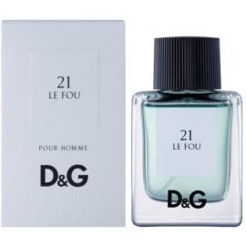 Dolce & Gabbana D&G Anthology Le Fou 21 toaletna voda za moške 50 ml
