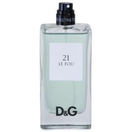 Dolce & Gabbana D&G Anthology Le Fou 21 toaletní voda tester pro muže 100 ml
