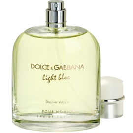 Dolce & Gabbana Light Blue Discover Vulcano Pour Homme eau de toilette teszter férfiaknak 125 ml
