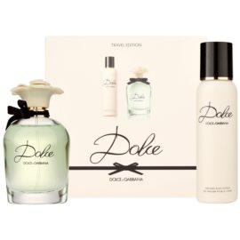 Dolce & Gabbana Dolce подаръчен комплект V. парфюмна вода 75 ml + мляко за тяло 100 ml