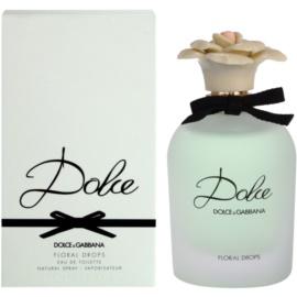 Dolce & Gabbana Dolce Floral Drops toaletna voda za žene 75 ml