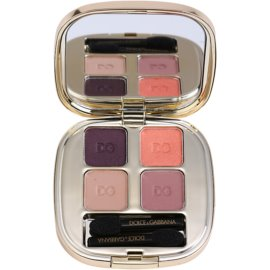 Dolce & Gabbana The Eyeshadow paleta senčil za oči odtenek No. 110 Nude No. 110 Nude No. 110 Nude No. 110 Nude (Smooth Eye Colour Quad 4,8 g