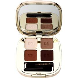 Dolce & Gabbana The Eyeshadow paleta senčil za oči odtenek No. 123 Desert  4,8 g