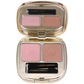 Dolce & Gabbana The Eyeshadow Eye Shadow Double Color No. 80 Cinnamon  5 ml