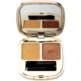 Dolce & Gabbana The Eyeshadow сенки за очи  дуо цвят No. 103 Gold  5 мл.