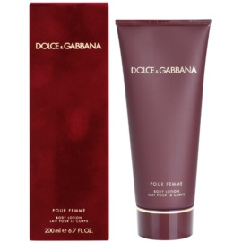 Dolce & Gabbana Pour Femme (2012) Körperlotion für Damen 200 ml