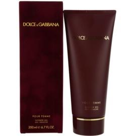 Dolce & Gabbana Pour Femme (2012) sprchový gel pro ženy 200 ml