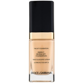 Dolce & Gabbana The Foundation The Lift Foundation Fond de ten cu efect de lifting SPF 25 culoare Classic 60 30 ml