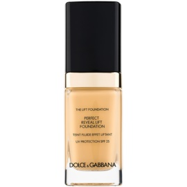 Dolce & Gabbana The Foundation The Lift Foundation Fond de ten cu efect de lifting SPF 25 culoare Bisque 75 30 ml