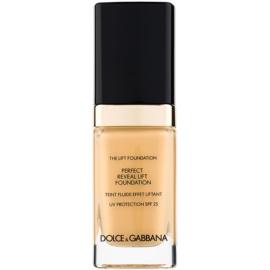 Dolce & Gabbana The Foundation The Lift Foundation make-up s liftingovým účinkem SPF 25 odstín Bisque 75 30 ml