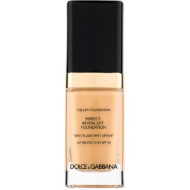 Dolce & Gabbana The Foundation The Lift Foundation Fond de ten cu efect de lifting SPF 25 culoare Beige 78 30 ml