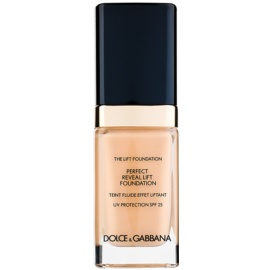 Dolce & Gabbana The Foundation The Lift Foundation Fond de ten cu efect de lifting SPF 25 culoare Creamy 80 30 ml