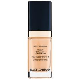 Dolce & Gabbana The Foundation The Lift Foundation make-up s liftingovým účinkem SPF 25 odstín Creamy 80 30 ml