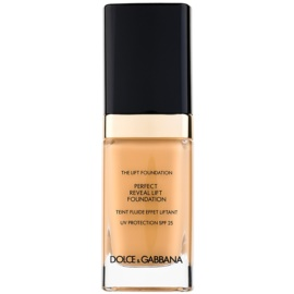Dolce & Gabbana The Foundation The Lift Foundation Fond de ten cu efect de lifting SPF 25 culoare Natural Glow 100 30 ml