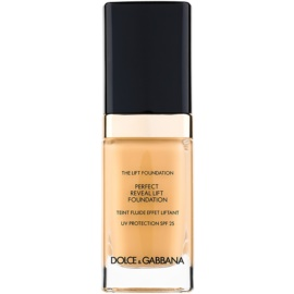 Dolce & Gabbana The Foundation The Lift Foundation Fond de ten cu efect de lifting SPF 25 culoare Caramel 110 30 ml