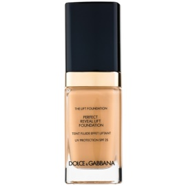 Dolce & Gabbana The Foundation The Lift Foundation Fond de ten cu efect de lifting SPF 25 culoare Warm Rose 130 30 ml