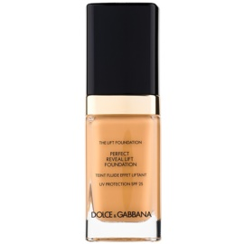 Dolce & Gabbana The Foundation The Lift Foundation Fond de ten cu efect de lifting SPF 25 culoare Rose Beige 140 30 ml