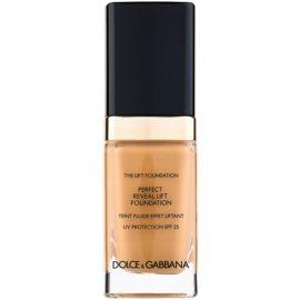 Dolce & Gabbana The Foundation The Lift Foundation make-up s liftingovým účinkem SPF 25 odstín 144 Bronze 30 ml