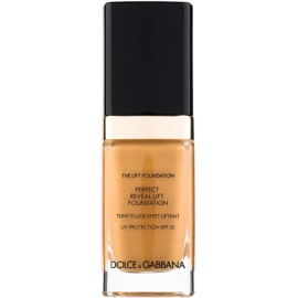 Dolce & Gabbana The Foundation The Lift Foundation Fond de ten cu efect de lifting SPF 25 culoare Amber 148 30 ml