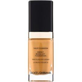 Dolce & Gabbana The Foundation The Lift Foundation make-up s liftingovým účinkem SPF 25 odstín Amber 148 30 ml