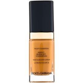 Dolce & Gabbana The Foundation The Lift Foundation make-up s liftingovým účinkem SPF 25 odstín Soft Tan 160 30 ml